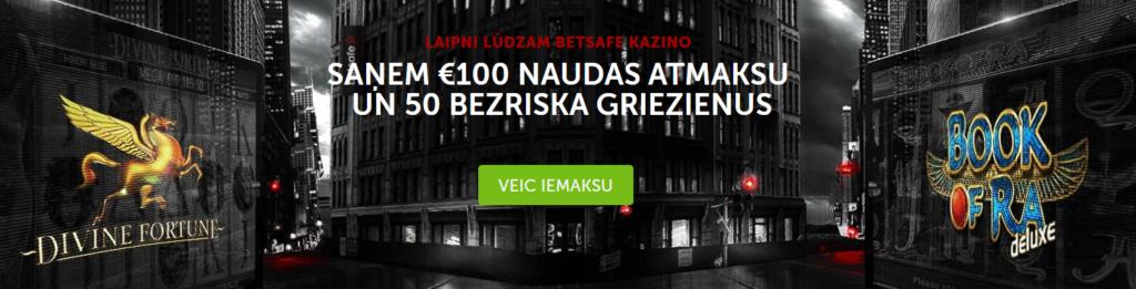 betsafe kazino bonus