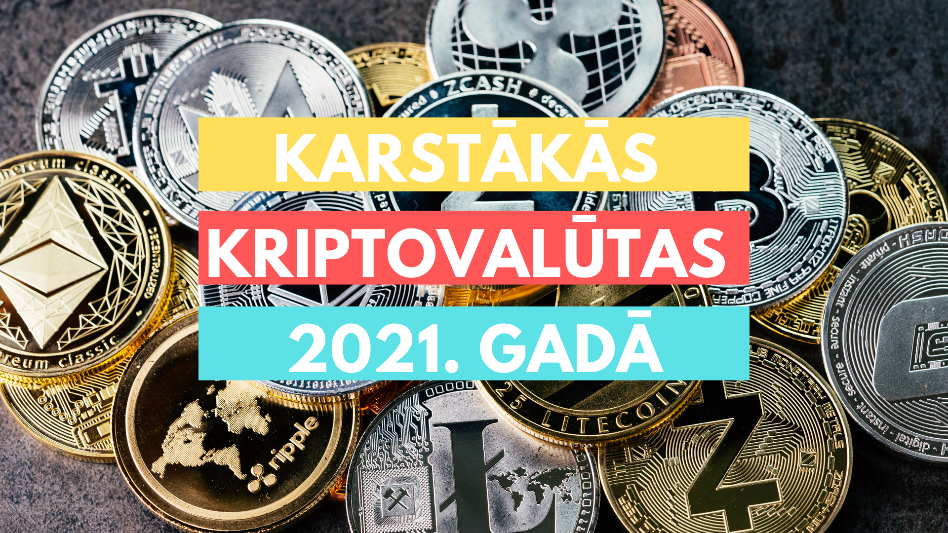 5 lētas Kriptovalūtas, kas eksplodēs 2021. gadā